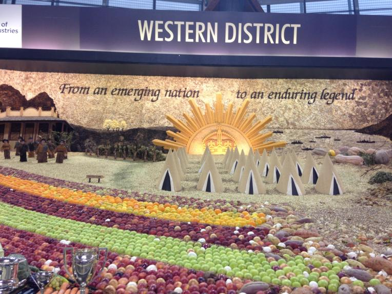 April easter show western district produce