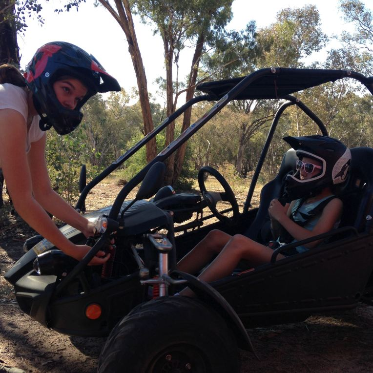 march sisterly helping hand dune buggy
