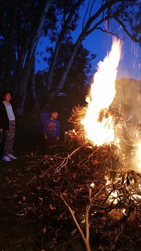 September burn off