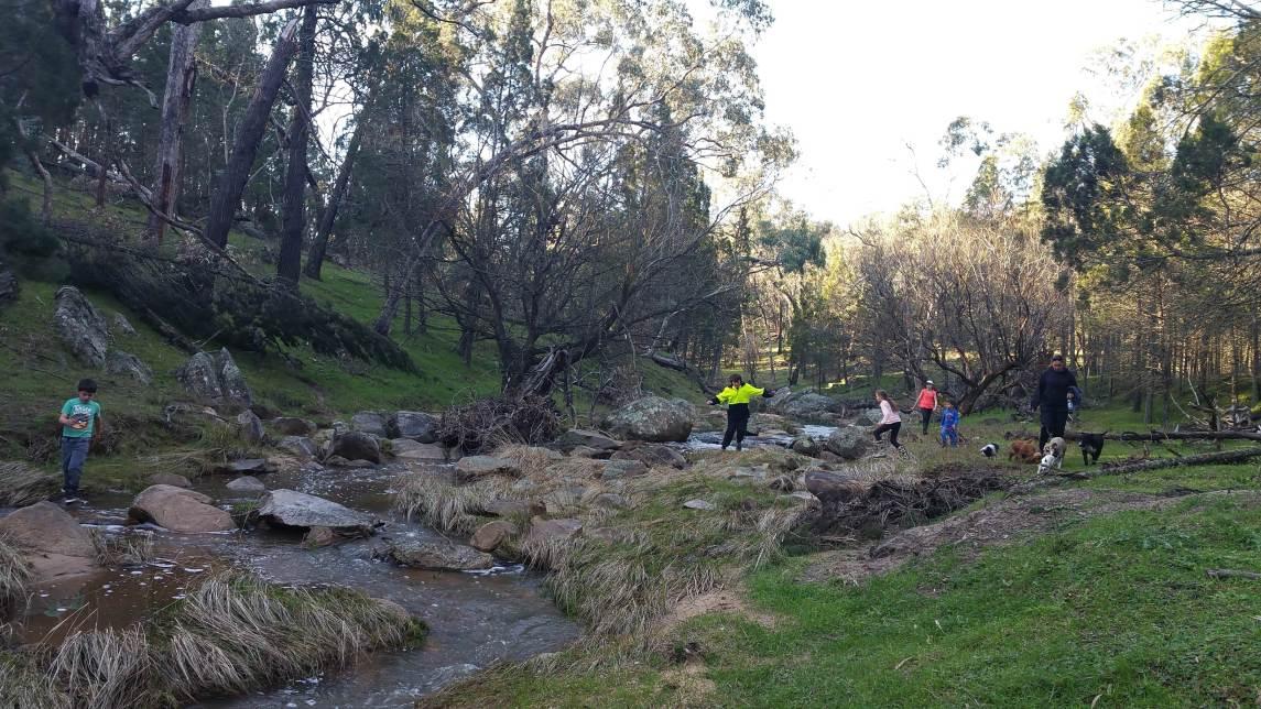 September jumping creek